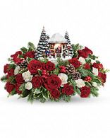 "Thomas Kincades ""Jolly Santa bouquet"" by Teleflora"