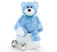 Silky Blue Bear