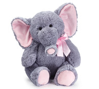 Large Gray and pink Elephant