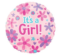 Its A Girl Balloon