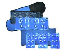 Full Body Heating Pad Set in light blue