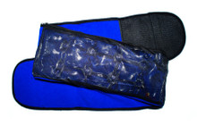 Lower Back Heating Pad with Belt in blue