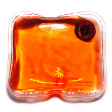 Square Hand Warmer in red