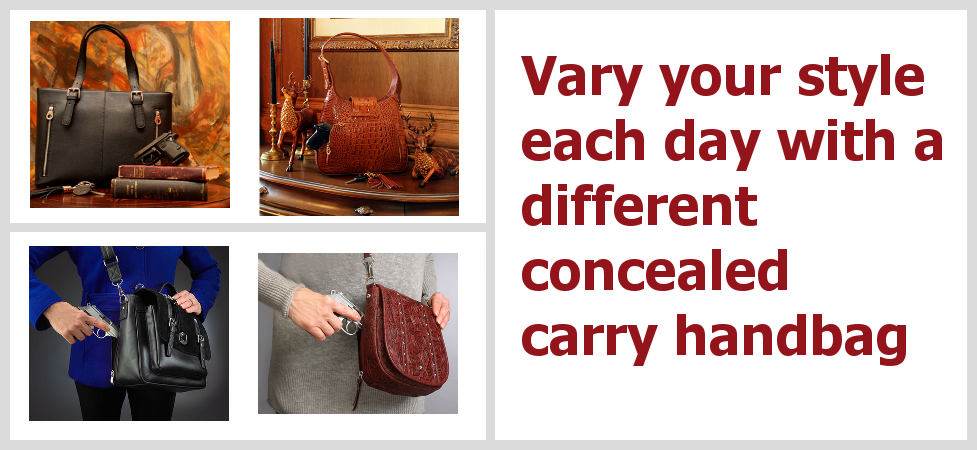 Concealed carry purses for every occasion