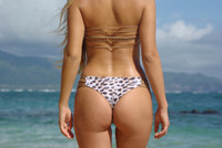 A Luluka  Reversible Cheeeky  Bikini Bottoms* Customize Size & Choose from 50+ Fabrics