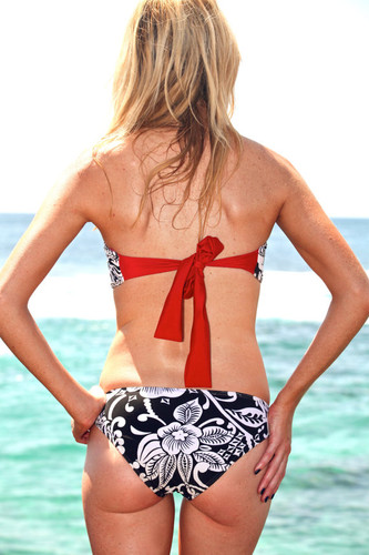 Bellows Reversible Moderate Coverage Bikini Bottoms  Customize Size & Choose from 50+ Fabrics