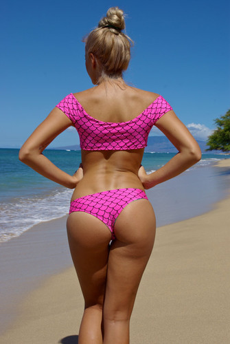 Manoa Reversible Style Brazilian Sexy Bikini Bottoms  Customize Size & Choose from 50+ Fabrics