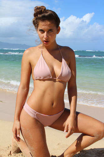 A Nanakuli Versatile Triangle Sliders Bikini Top Customize Size & Choose from 50+ Fabrics4