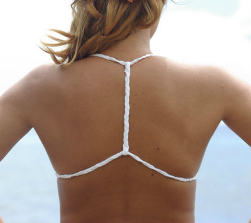 Kewalo Bralet Triangle Bikini Top Customize Size & Choose from 50+ Fabrics