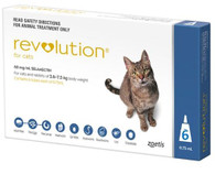 Revolution for Cats 2.6-7.5kg 6 Month supply