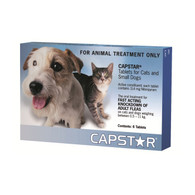 Capstar Flea Tablets 6 Pack for Cats and Dogs 0.5-11kg
