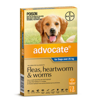 Advocate 3 Month Supply for Dogs over 25kg