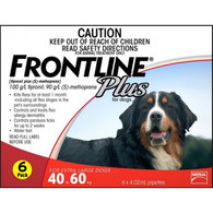 FrontLine Plus 6 Month for Dogs 40-60kg