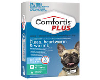 Comfortis Plus 6 Chewable Tablets For 9.1-18kg