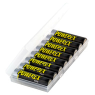 Powerex Pro Rechargeable AA NiMH Batteries (1.2V, 2700mAh) - 8 pack (special)