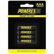 Powerex Precharged AAA 1000mAh (4-pack) (special)