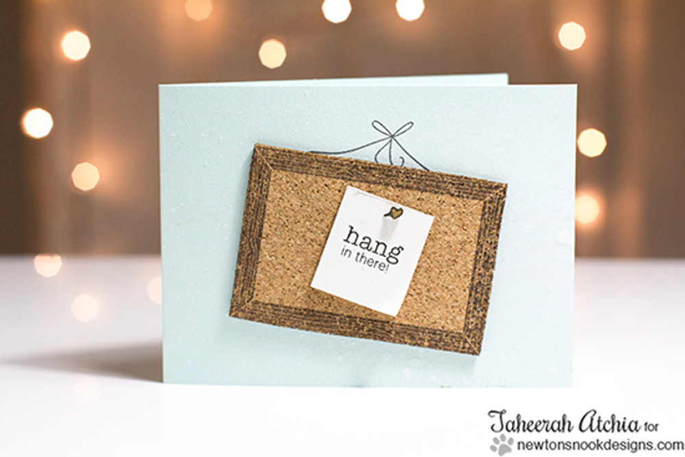 Hang in there   | Around the House Stamp Set | Newton's Nook Designs