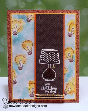 You Light up my Life  | Around the House Stamp Set | Newton's Nook Designs
