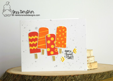 Party Pops Stamp Set by Newton's Nook Designs