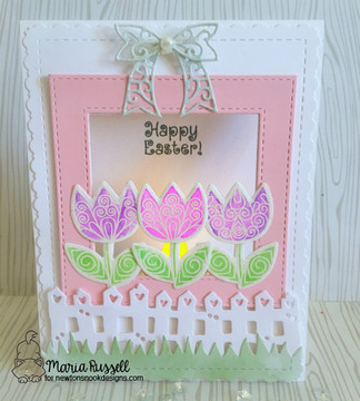 Beautiful Spring Stamp Set by Newton's Nook Designs