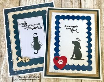 Furr-ever Friends Stamp Set by Newton's Nook Designs
