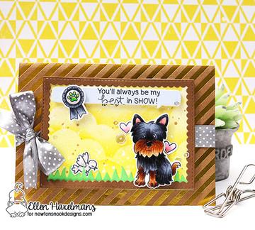 Terrific Terriers Stamp Set by Newton's Nook Designs