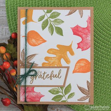 Shades of Autumn Stamp Set by Newton's Nook Designs