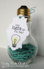Light bulb tag and gift  | Around the House Stamp Set | Newton's Nook Designs