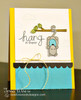 Hang in there possum card | Hanging Around stamp set by Newton's Nook Designs