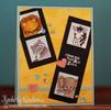 Lion, Lemur, Zebra and Elephant Love Card | Wild About Zoo | 4x6 photopolymer Stamp Set | Newton's Nook Designs