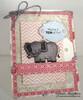 Elephant Valentine Card | Wild About Zoo | 4x6 photopolymer Stamp Set | Newton's Nook Designs