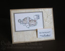 Get Well Cat Card   Naughty Newton   4x6 photopolymer Stamp Set   Newton's Nook Designs