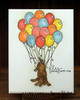 Dachshund Friendship Card | Delightful Doxies | 4x6 photopolymer Stamp Set | Newton's Nook Designs