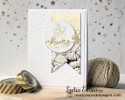 Champagne Cheers Card | Years of Cheers | 3x4 photopolymer Stamp Set | Newton's Nook Designs