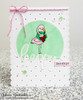 Festive Flamingos | 3x4 Photopolymer Stamp Set | Newton's Nook Designs