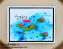 Hoppy Days | 4x6 Photopolymer Stamp Set | Newton's Nook Designs