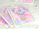 Darling Duos | 4x6 Photopolymer Stamp Set | Newton's Nook Designs