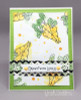 Watercolor Carrots Card using Vegetable Garden Stamp Set by Newton's Nook Designs