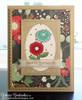 Flower card using Garden Window Die Set  & Flower Garden Stamp setby Newton's Nook Designs