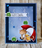 Newton's Rainy Day Stamp Set by Newton's Nook Designs