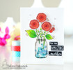 Lovely Blooms  Stamp Set by Newton's Nook Designs