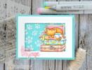 Stow Away Newton Stamp Set by Newton's Nook Designs