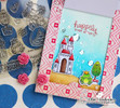 Once Upon a Princess Stamp Set by Newton's Nook Designs