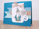 Wizard Card | Magical Dreams Stamp Set by Newton's Nook Designs