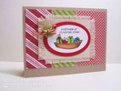Boatloads of Christmas Cheer card using Seasons Greetings Stamp Set by Newton's Nook Designs