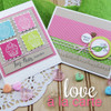 Sweet Pea & Cupcake Cards  | Love à la Carte Stamp Set by Newton's Nook Designs