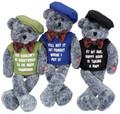"Sr. Moments Guys Bear ""When I'm 64"" Chantilly Lane Bear #15"