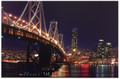 """The GW Bridge"" Battery Operated LED Lighted Canvas #186"