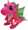"TY Beanie Boos -Darla The Dragon Large 9"" # 042"