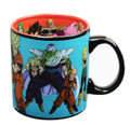Dragon Ball Z Group 20oz. Ceramic Coffee Mug with Inside and Outside Artwork